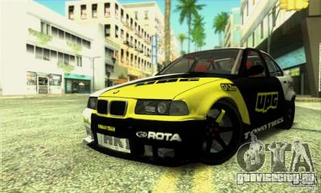 BMW E36 Urban Perfomance Garage для GTA San Andreas
