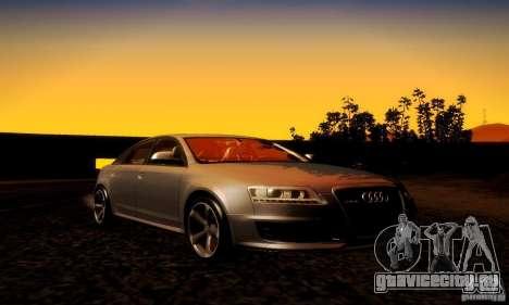 Audi RS6 TT для GTA San Andreas вид сбоку