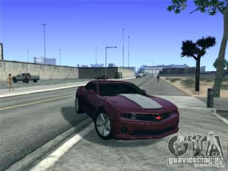 Chevrolet Camaro SS для GTA San Andreas вид сзади