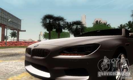 BMW M6 Coupe 2013 для GTA San Andreas вид справа