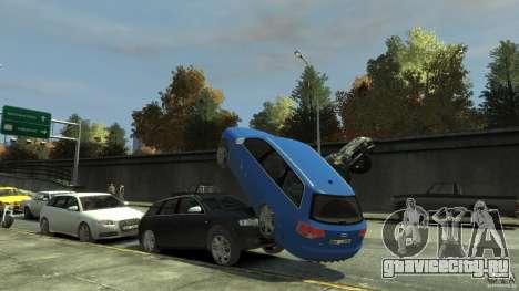Audi S4 Avant для GTA 4 салон