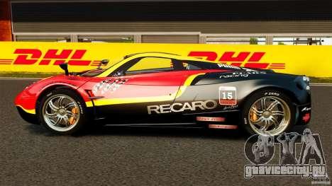 Pagani Huayra 2011 [EPM] для GTA 4 вид слева