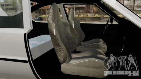 Skoda 120 Rapid v0.7 для GTA 4 вид сзади