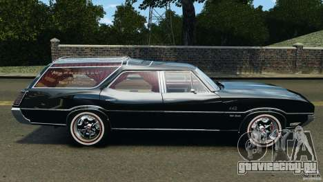 Oldsmobile Vista Cruiser 1972 v1.0 для GTA 4 вид слева