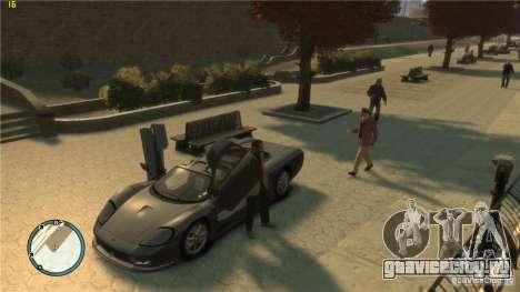 Реалистичное вождение для GTA 4 второй скриншот