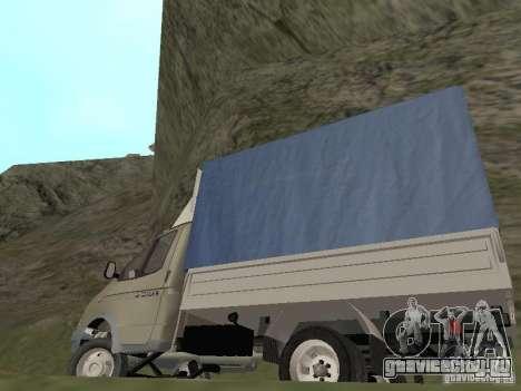 ГАЗ 3302 2001г.в. для GTA San Andreas вид сбоку