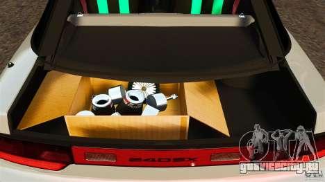 Nissan 240SX facelift Silvia S15 [RIV] для GTA 4 вид сверху