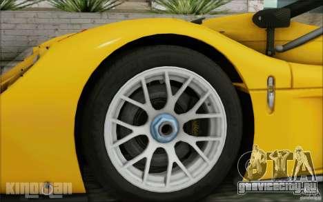 Radical SR3 RS 2009 для GTA San Andreas вид сзади слева