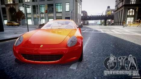 Ferrari 612 Scaglietti custom для GTA 4 вид сбоку
