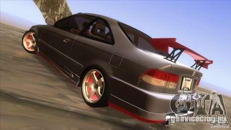 Honda Civic SI для GTA San Andreas вид сверху