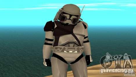 Commander Bacara для GTA San Andreas второй скриншот