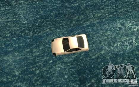 Alpha boat для GTA San Andreas вид справа