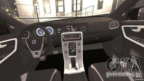 Volvo S60 R-Designs v2.0 для GTA 4 вид сзади