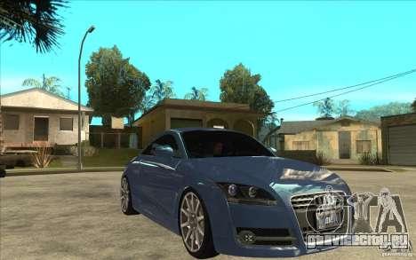 Audi TT 3.2 Coupe для GTA San Andreas вид сзади