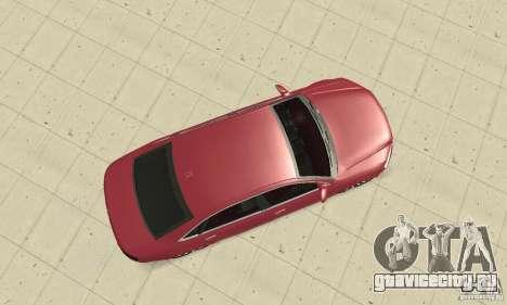 Audi A8L 4.2 FSI для GTA San Andreas вид справа