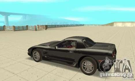 Chevrolet Corvette 5 для GTA San Andreas вид сзади