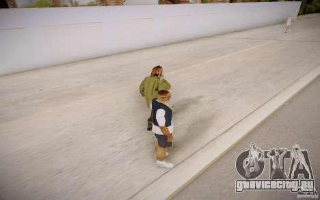 Прохожие разговаривают по телефону для GTA San Andreas четвёртый скриншот