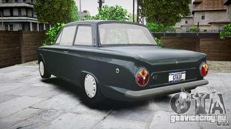 Lotus Cortina S 1963 для GTA 4 вид снизу