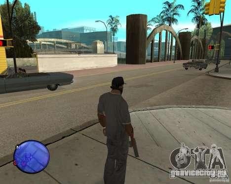 Police On Radar для GTA San Andreas третий скриншот