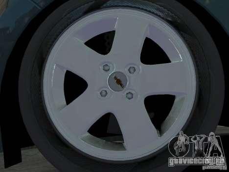 Chevrolet Spark для GTA 4 вид изнутри