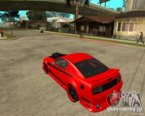 Ford Mustang Red Mist Mobile для GTA San Andreas вид слева