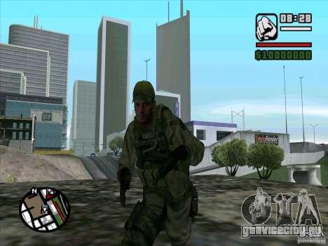 Dave из Resident Evil для GTA San Andreas третий скриншот