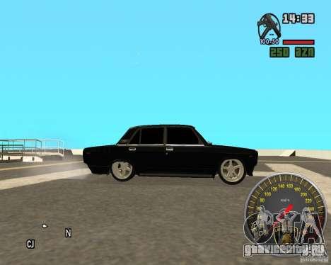 ВАЗ 2107 DuB для GTA San Andreas вид слева