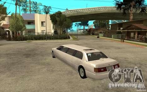 Stretch - GTA IV для GTA San Andreas вид сзади слева
