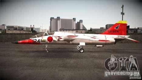 Mitsubishi T-2 для GTA San Andreas вид слева