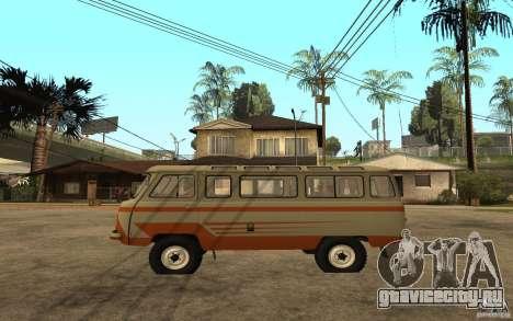 УАЗ 450В для GTA San Andreas вид слева