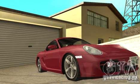 Porsche Cayman S для GTA San Andreas вид сверху