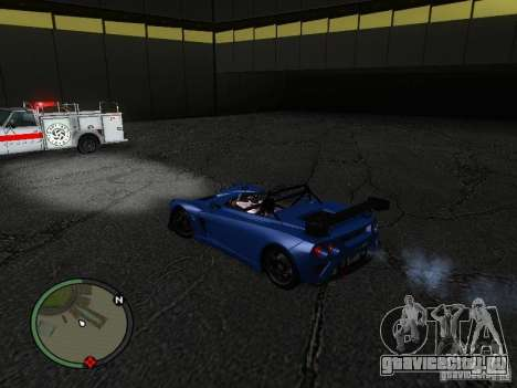 Lotus 2-Eleven 2009 для GTA San Andreas вид сзади слева
