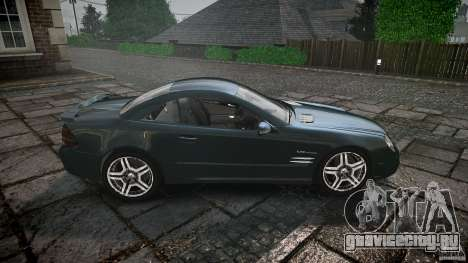 Mercedes Benz SL65 AMG V1.1 для GTA 4 вид сбоку