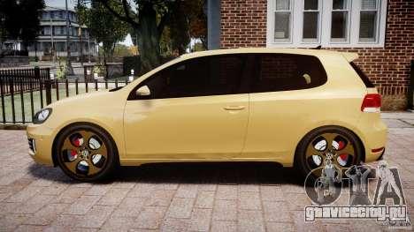 Volkswagen Golf GTI Mk6 2010 для GTA 4 вид слева