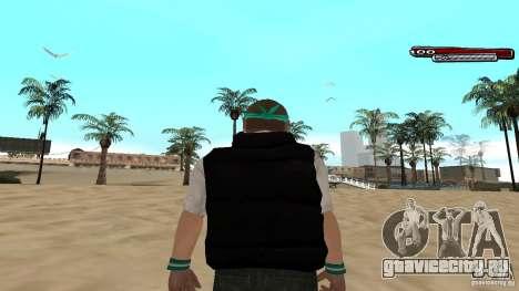 Skin Pack The Rifa Gang HD для GTA San Andreas девятый скриншот