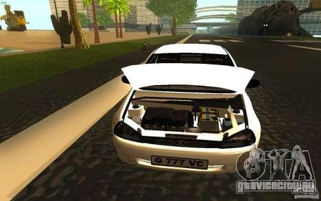 Lada Kalina Stock для GTA San Andreas вид сзади