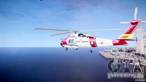 HH-60J Jayhawk для GTA 4 вид справа
