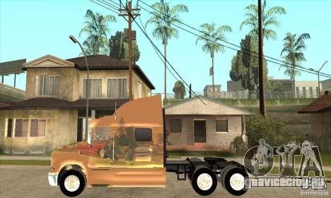 Peterbilt 387 скин 3 для GTA San Andreas вид слева
