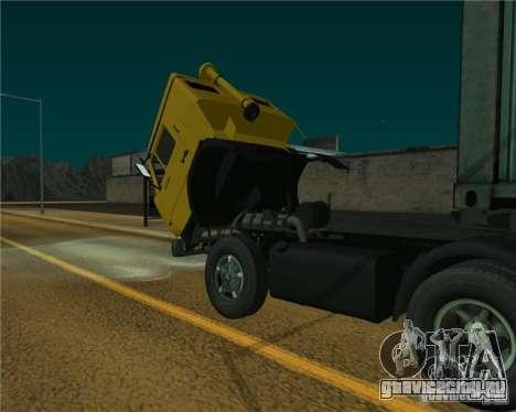 КамАЗ 54112 для GTA San Andreas вид сзади слева