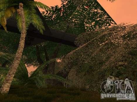 Тайна тропического острова для GTA San Andreas пятый скриншот