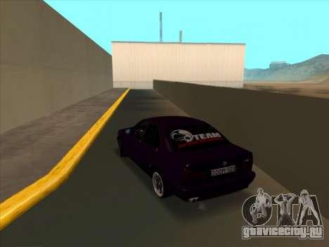 BMW M5 E34 NeedForDrive для GTA San Andreas вид сзади слева