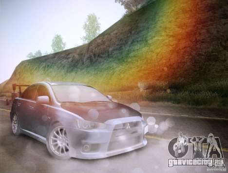 Mitsubishi Lancer Evolution Drift Edition для GTA San Andreas салон