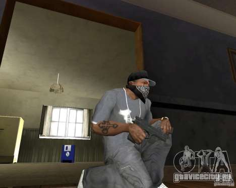 M9 для GTA San Andreas второй скриншот