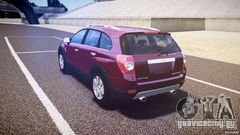 Chevrolet Captiva 2010 Final для GTA 4 вид справа