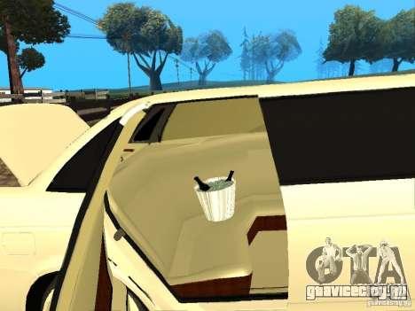 ВАЗ 2170 Приора Лимузин для GTA San Andreas вид сзади