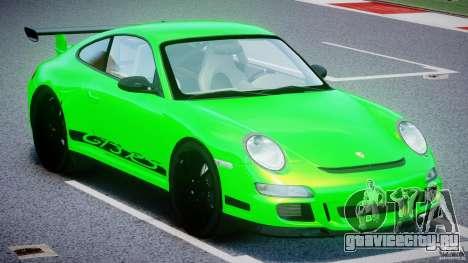 Porsche 997 GT3 RS для GTA 4 вид изнутри
