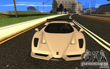 Ferrari Enzo ImVehFt для GTA San Andreas вид сзади