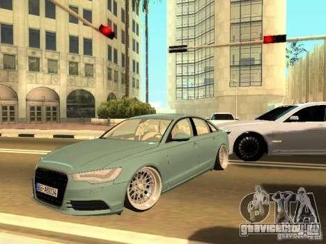 Audi A6 Stanced для GTA San Andreas
