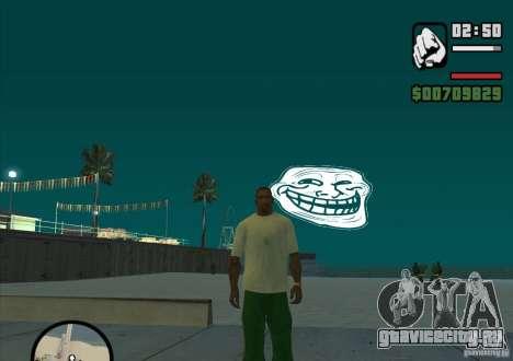 Trollface Moon для GTA San Andreas