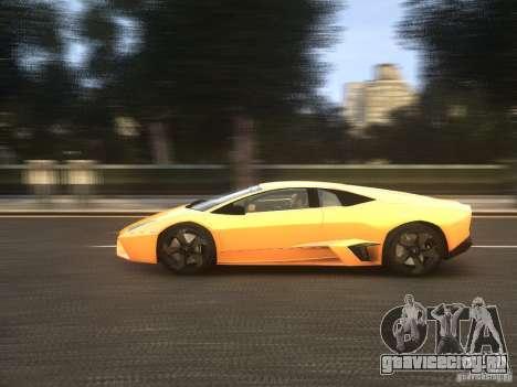 Lamborghini Reventon 2008 для GTA 4 вид изнутри